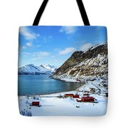 Grotfjord Norway Tote Bag