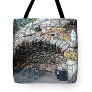 Grotto Of Our Lady Of Lourdes 2 Tote Bag