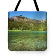 Grotto Pond Canmore Alberta Tote Bag