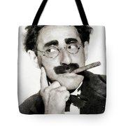Groucho Marx, Vintage Comedy Actor Tote Bag