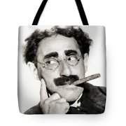Groucho Marx, Vintage Comedy Actor Tote Bag