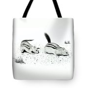 Ground Squirrels Tote Bag