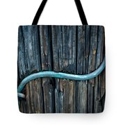 Copper Ground Wire On Utility Pole Tote Bag