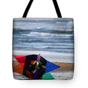 Grounded Rainbow Tote Bag