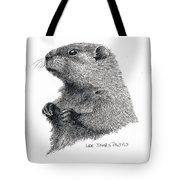 Groundhog Or Woodchuck Tote Bag