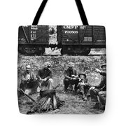 Group Of Hoboes, 1920s Tote Bag