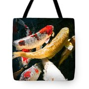 Group Of Koi Fish Tote Bag