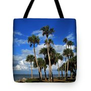 Group Of Palms Tote Bag