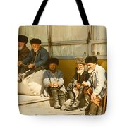 Group Of Uzbek Retirees Tote Bag