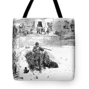 Grouse Hunting, 1887 Tote Bag