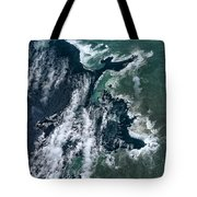 Growing Kapoho Coastline Tote Bag