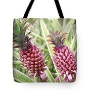 Growing Red Pineapples Tote Bag