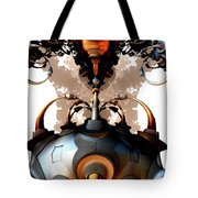Growth Pattern Tote Bag