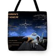 Grumman F-11 Tiger Tote Bag