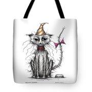Grumpy George Tote Bag