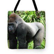 Grumpy Gorilla II Tote Bag
