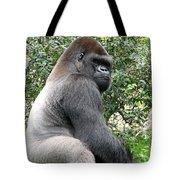 Grumpy Gorilla Tote Bag
