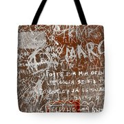 Grunge Background Tote Bag by Carlos Caetano