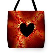 Grunge Heart Tote Bag