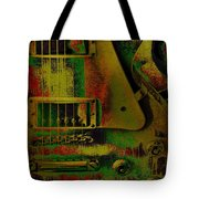Grunge Metal Tote Bag
