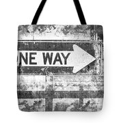 Grunge One Way Tote Bag