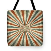 Grunge Ray Retro Design Tote Bag