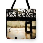 Grunge River Tote Bag