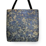 Grunge Texture Alien Landscape Crater Glazed Paint Spotted Rough Abstract Tote Bag