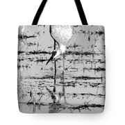 Grus Canadensis 2 Tote Bag by Marla Craven