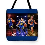 Gsw Magic Trio Tote Bag