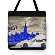 Gt Graffiti Nyc Tote Bag by Edward Fuller