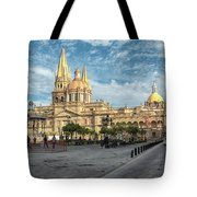 Guadalajara Cathedral Tote Bag