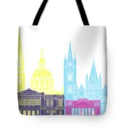 Guadalajara Mx Skyline Pop Tote Bag