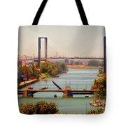 Guadalquivir River Tote Bag