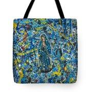 Guadalupe Visits Pollack Tote Bag
