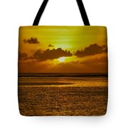 Guam Sunset Tote Bag