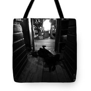 Guard Dog Tote Bag by David Lee Thompson