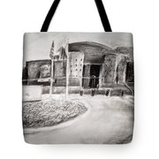 Guarded Entrance Tote Bag