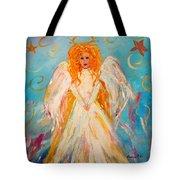 Guardian Angel Tote Bag by Barbara Pirkle