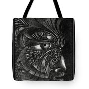 Guardian Cherub Tote Bag