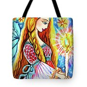 Guardian Mother Of Life Tote Bag