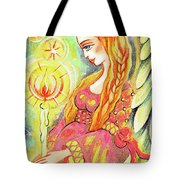 Guardian Mother Of Light Tote Bag