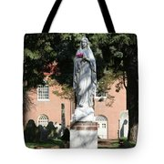 Guardian Of The Cemetery  Tote Bag
