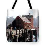 Guardian Of The Harbor Tote Bag