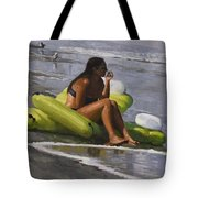 Guardian Of The Rafts Tote Bag