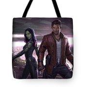 Guardians Of The Galaxy Vol. 2 Tote Bag