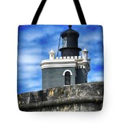 Guarding Lighthouse Tote Bag