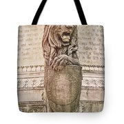Guarding Savannah Tote Bag