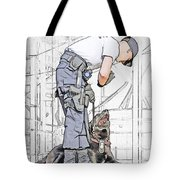 Guarding The City Tote Bag