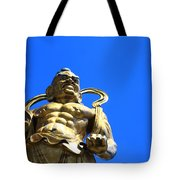 Guarding The Temple Tote Bag